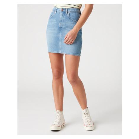 Wrangler Mom Skirt Blau