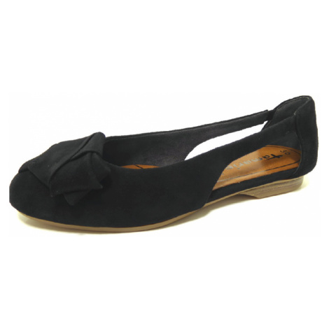 Damen Tamaris Ballerinas schwarz