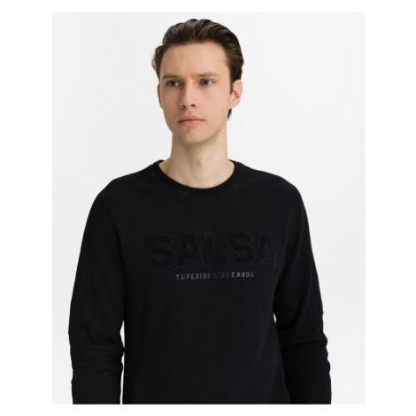 Salsa Jeans Sweatshirt Schwarz