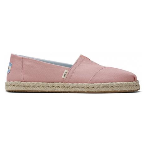 TOMS Espadrilles Damen CLASSIC 10015058 Pink Plant Dyed Pink
