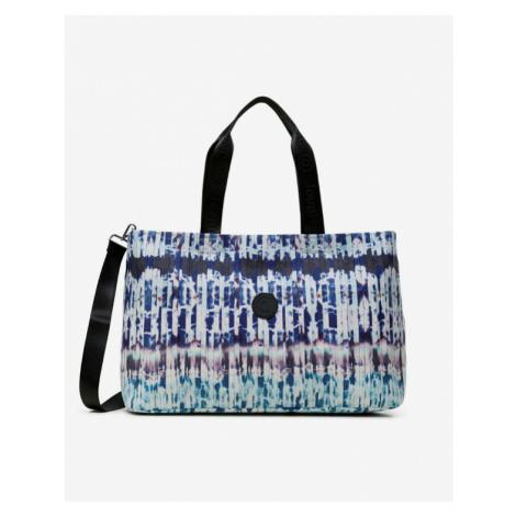 Desigual Pleats Tasche Blau