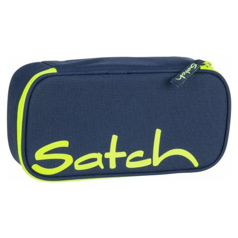 Satch Federmappe satch Schlamperbox Toxic Yellow (1.3 Liter)