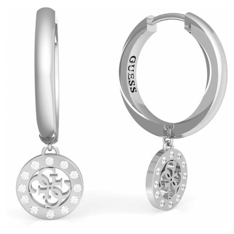 Guess JUBE79042JW Damen-Ohrhänger Ohrringe Charms & Crystals