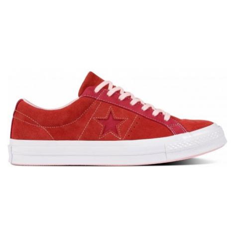 Converse ONE STAR rot - Flache Herren Sneakers