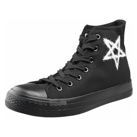 High Top Sneakers Unisex - Pentagram - AMENOMEN - OMEN096TRAMP