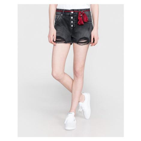 Pepe Jeans Bonita Black Shorts Schwarz Grau