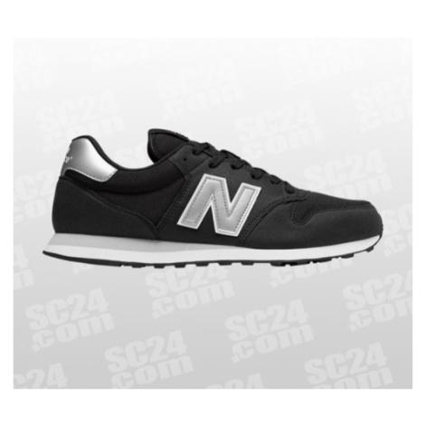New Balance 500 D schwarz/silber Größe 42,5