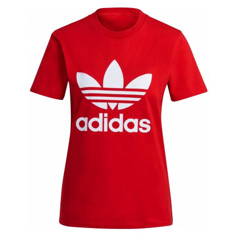 Adidas Originals T-Shirt Damen TREFOIL TEE GN2902 Rot