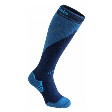 Socken Bridgedale Mountain 039 navy / stahl