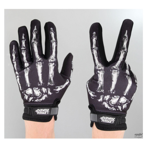 Handschuhe LETHAL THREAT - Bones Hand - Black - GL15000