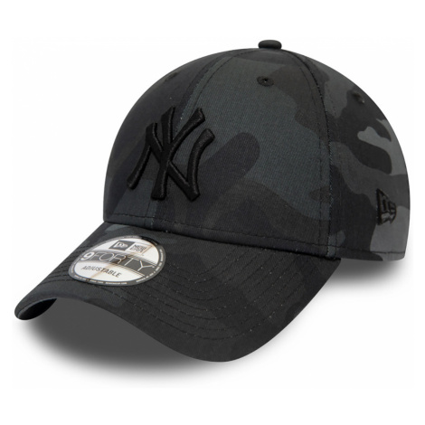 New Era League Essential 9Forty Adjustable Cap NY YANKEES Grau Camouflage