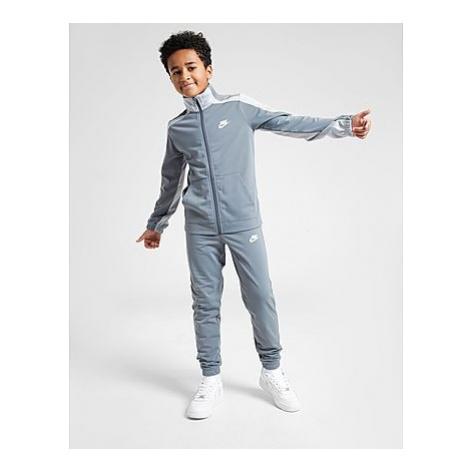 Nike Sportswear Trainingsanzug Kinder - Smoke Grey/Light Smoke Grey/White - Kinder, Smoke Grey/L