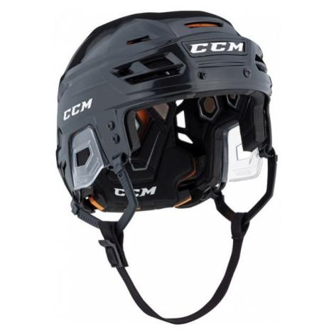 Schwarze hockeyhelme