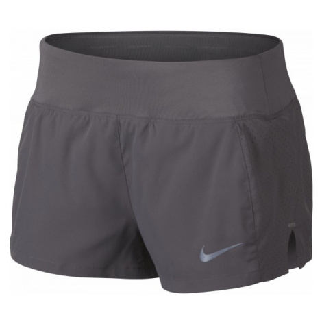 Nike ECLIPSE 3IN SHORT W grau - Damen Laufshorts
