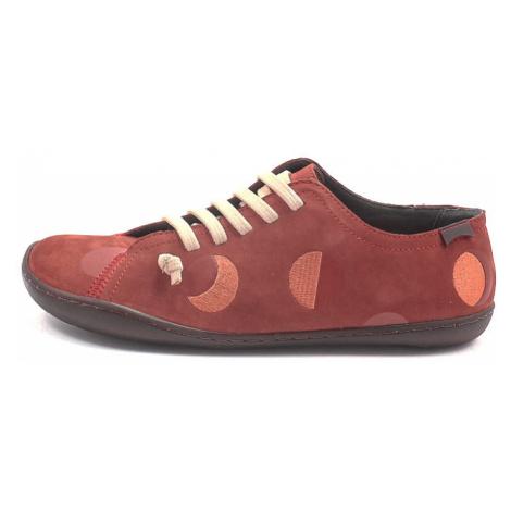 Camper, K201136 Twins Damen Sneaker, rostrot