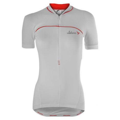 Damen Radsport Dress Silvini Catirina WD1002 weiß-rot