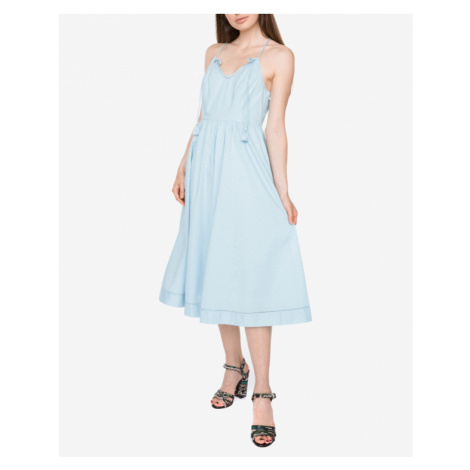 Juicy Couture Dobby Kleid Blau