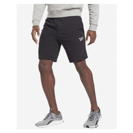 Reebok Identity French Terry Shorts Schwarz