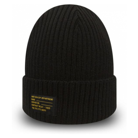 New Era WATCH KNIT NE schwarz - Herren Mütze