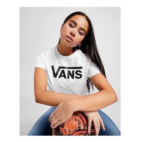 Vans Flying V Logo T-Shirt - White - Damen, White