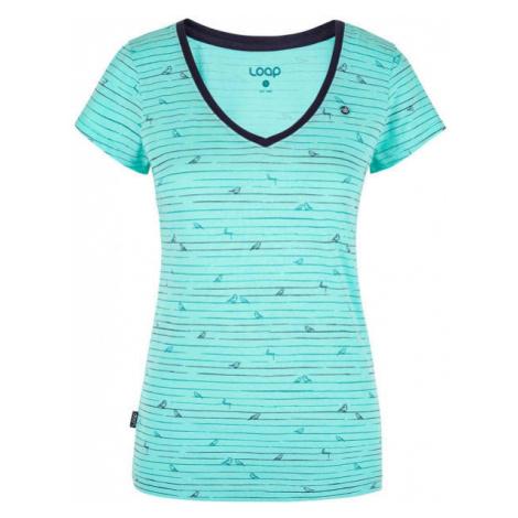 Loap BAFFY blau - Damenshirt