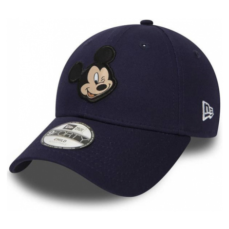 Kids New Era 9Forty Youth Disney Patch Mickey Mouse Navy