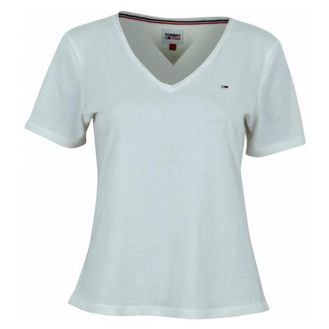Tommy Hilfiger Damen T-Shirt Tjw Slim Jersey V Neck