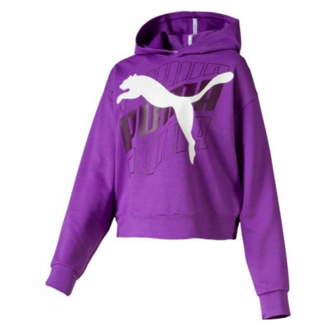 Puma MODERN SPORT HOODY violett - Sweatshirt für Damen