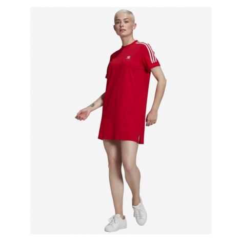 adidas Originals Adicolor Classics Roll-Up Kleid Rot