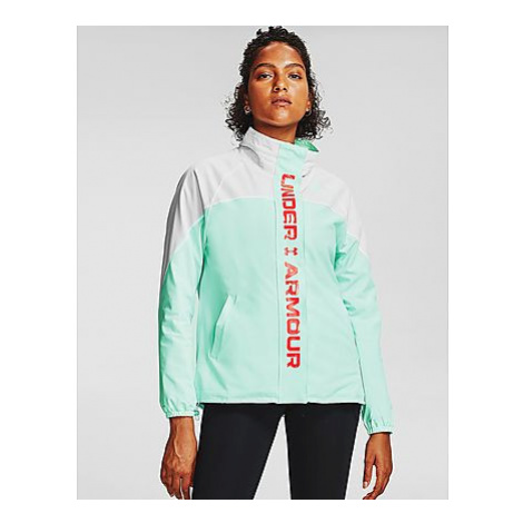 Under Armour RECOVER Woven CB Jacke - White - Damen, White