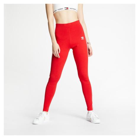 adidas 3 Stripes Tight Scarlet