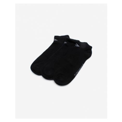 Converse Skarpety 3 Paar Socken Schwarz