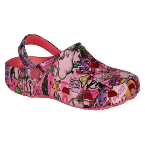 Coqui FROG rosa - Kinder Sandalen