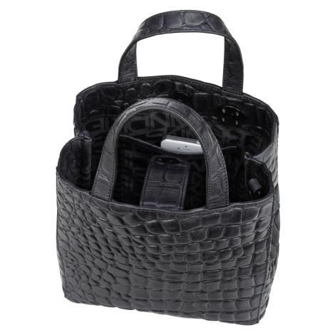 Liebeskind Berlin Handtasche Paperbag S20 Waxy Croco Black (5.9 Liter)