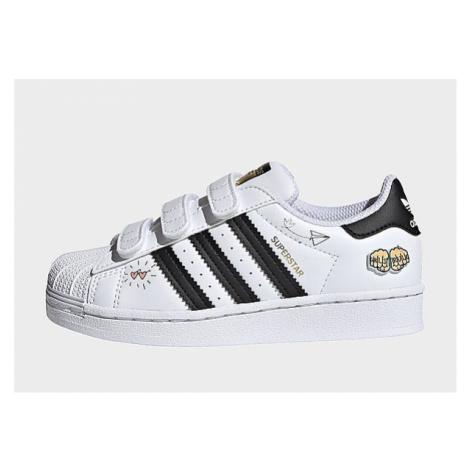 Adidas Originals Superstar Schuh - Cloud White / Core Black / Gold Metallic, Cloud White / Core