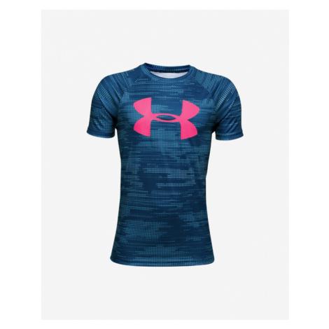 Under Armour Tech™ Kinder  T‑Shirt Blau