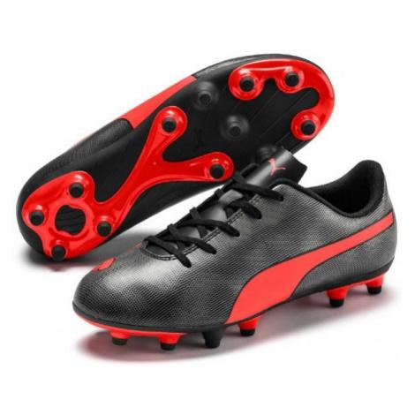 Puma RAPIDO FG JR rot - Kinder Fußballschuhe