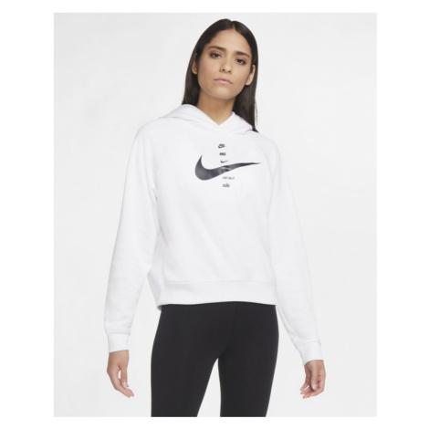 Nike Sportswear Swoosh Sweatshirt Weiß