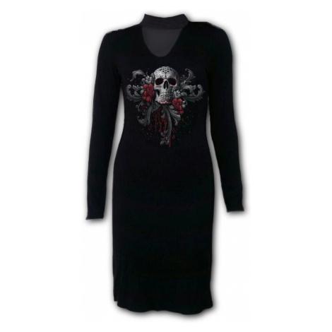 Damen Kleid SPIRAL - SKULL ROSES - D058F137