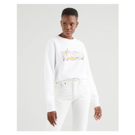 Levi's® Standard Graphic Sweatshirt Weiß Levi´s