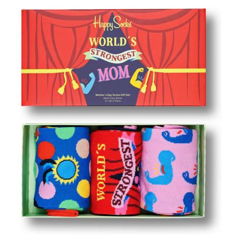Happy Socks Geschenkbox MOTHER´S DAY SOCKS GIFT SET 3-PACK XMOT08-3300 Mehrfarbig