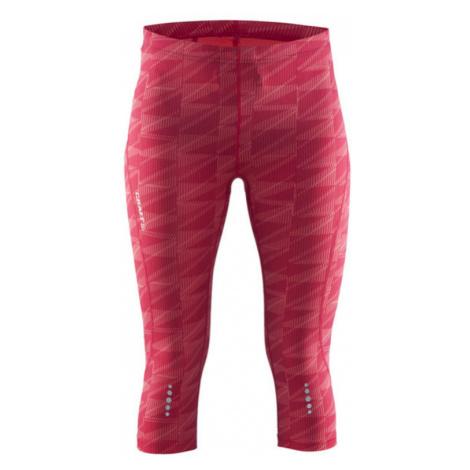 Hosen CRAFT Mind Capri 1903945-1073 - pink mit Druck