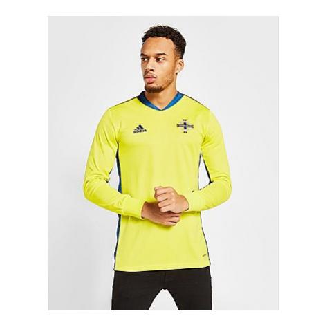 Adidas Northern Ireland 2020 Home Torwart Trikot Herren - Yellow - Herren, Yellow