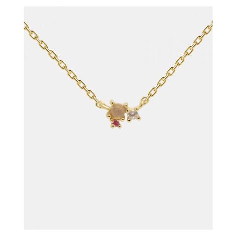 PD Paola Rosé Blush Halskette Gold