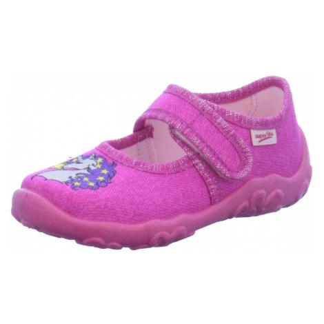 Unisex Superfit Hausschuhe lila/pink