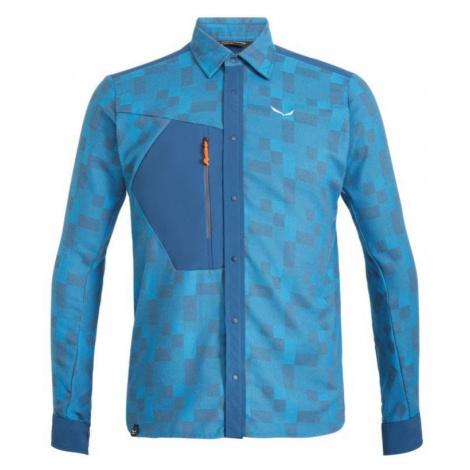 T-Shirt Salewa Fanes SPRINGER PL M L/S SHIRT 27245-8156