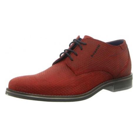 Herren Bugatti Business Schuhe rot Gagno
