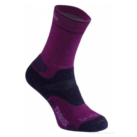 Socken Bridgedale Hike Midweight Merino Comfort Boot Women's berry/352