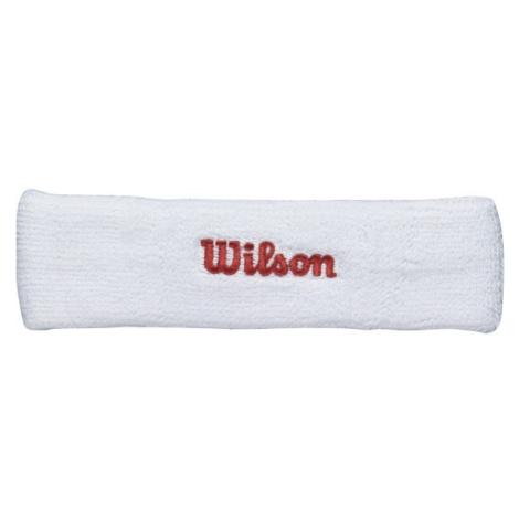 Wilson HEADBABD WH weiß - Stirnband - Wilson