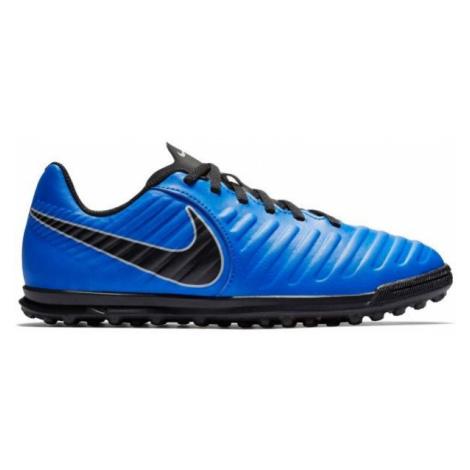 Nike JR TIEMPO LEGENDX 7 TF blau - Kinder Fußballschuhe